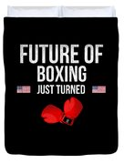Future Of Boxing Just Turned 8 Duvet Cover