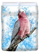 G Is For Galah Duvet Cover