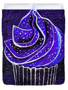 Galactic Universe Cupcake Duvet Cover