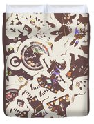 Games And Fairytales Duvet Cover
