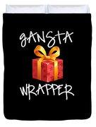 Gangsta Wrapper Funny Christmas Xmas Gift  Duvet Cover