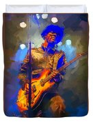 Gary Clark Jr Duvet Cover