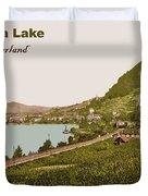 Geneva Lake Duvet Cover
