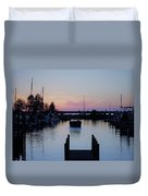 Calm Sunset Finish Duvet Cover