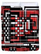 Geometric Stylization 2 Duvet Cover