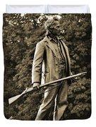 Gettysburg Battlefield - John Burns Duvet Cover