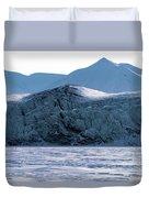 Glacier Cracked Under Pressure Duvet Cover