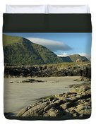 Glassilaun Beach Connemara Duvet Cover