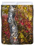 Gnarled Tree Trunk - Dezadeash Lake - Yukon Territory  Duvet Cover