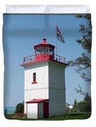 Goderich Lighthouse Duvet Cover