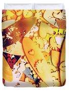 Gold Coast Duvet Cover