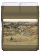 Golden Dakota Prairie Reverie Duvet Cover