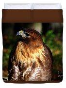 Golden Eagle Portrait Duvet Cover