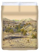 Golden Prairie Realm Reverie Duvet Cover