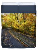 Golden Road Duvet Cover