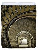 Golden Stairway Duvet Cover