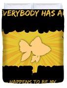 Goldfish Addiction Funny Farmer Animal Lover Duvet Cover