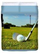 Golf Day Duvet Cover