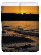 Good Harbor Bay Sunset Duvet Cover