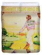 Goodbye Yellow Brick Road Duvet Cover