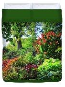 Gorgeous Gardens At Cornell University - Ithaca, New York Duvet Cover