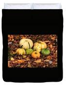 Gourds Grounded Duvet Cover