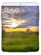 Gouveia Vineyard At Sunset  Duvet Cover
