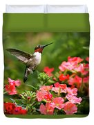 Graceful Garden Jewel Duvet Cover