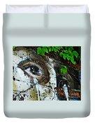 Graffiti On West 107 Street Duvet Cover