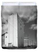 Grain Elevator, 2001 Duvet Cover