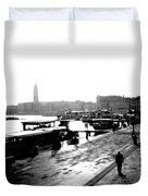 Grand Canal At Sunset Duvet Cover