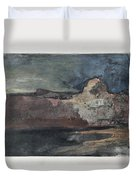Grand Canyon In Stormy Weather, Arizona - Digital Remastered Edition Duvet Cover