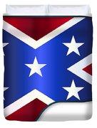 Grand Piano Confederate Flag Duvet Cover