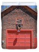 Grantham Barn With Quilt Squares Duvet Cover