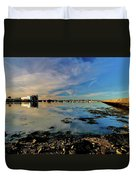 Granton Harbour Duvet Cover