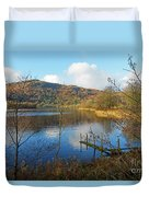 Grasmere In Late Autumn In Lake District National Park Cumbria Duvet Cover