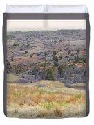 Grassy April Reverie Duvet Cover