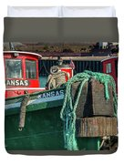 Great Lakes Towing Tug Kansas Duvet Cover