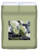 Green #1 Duvet Cover