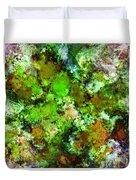 Green Scene Duvet Cover