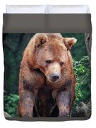 Grin And Bear It Duvet Cover