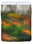 Ground Bouquet No. 3 - Somewhere In Greene County, Pennsylvania - Autumn Duvet Cover