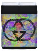 Gucci Logo Abstract Duvet Cover