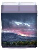 Gunnison Sunset Duvet Cover
