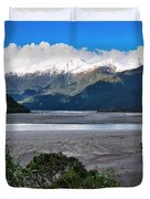 Haast Valley - New Zealand Duvet Cover