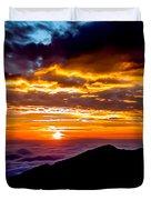 Haleakala Hawaii Duvet Cover