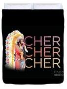 Half Breed Cher Duvet Cover