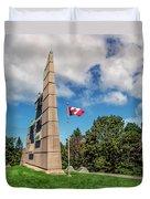 Halifax Explosion Memorial Bell Tower Duvet Cover