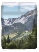 Hallett Peak Colorado Duvet Cover