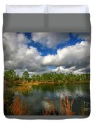 Halpatiokee Lake View #2 Duvet Cover by Tom Claud